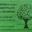 Flyer Trödeln auf dem Marktplatz von Wildberg 28.08.201